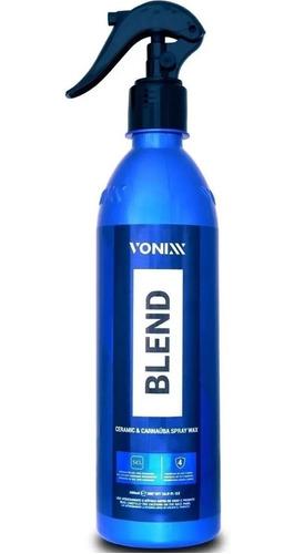 Imagem 1 de 5 de Cera Liquida Blend Carnauba C/ Silica Spray Wax Vonixx 473ml