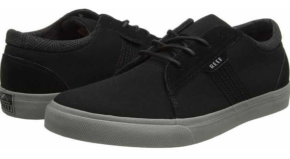 Tenis Reef Ridge Black Grey