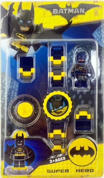 Reloj Tipo Lego Batman