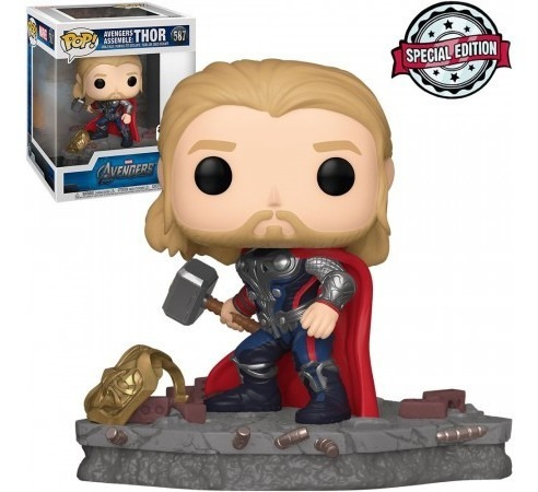 Funko Pop Thor Avengers Assemble 587 Special