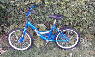 Bicicleta Para Niño/a Color Azul Rodado 26