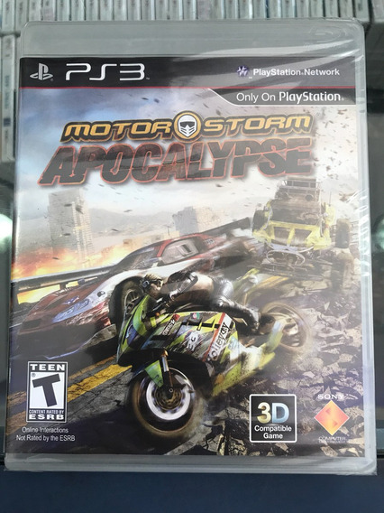 Motor Storm Apocalypse Playstation 3 Lacrado. Sony Ps3