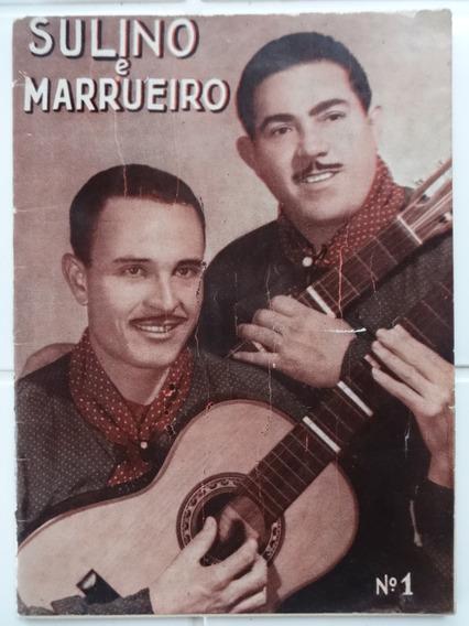 Suplemento De Melodias Sertanejas Sulino E Marrueiro Nº 1
