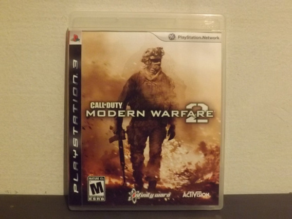 Ps3 Call Of Duty Modern Warfare 2 - Completo - Aceito Trocas