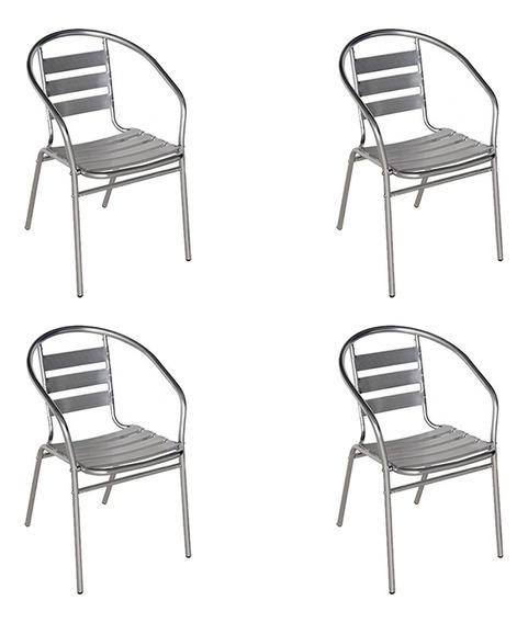 4 Cadeiras Mor Poltrona Jardim E Áreas Externas