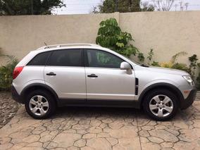 Chevrolet Captiva Sport Paq B Lsaut L4 Piel Negra Quemacocos
