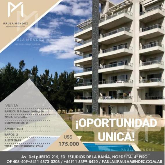 Departamento - Venta - 3 Ambientes - Insignia - El Palmar - Nordelta