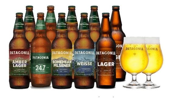 Pack Patagonia 730ml + 2 Copas De Regalo