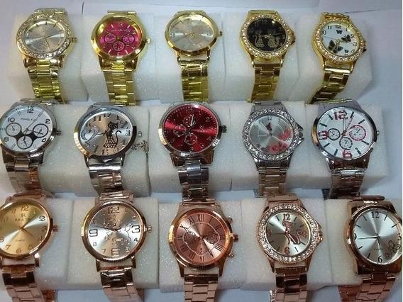 Kit 7 Relógios Femininos Atacado