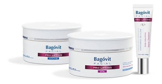 Bagovit Facial Pro Lifting Dia Ttp + Noche + Ojos
