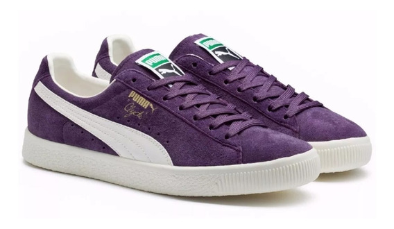 Tênis Puma Clyde Premium Core Sweet Grape Masculino Suede