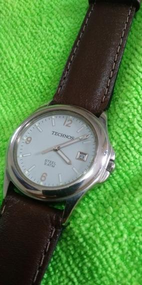 Relógio Technos Original, Funciona Perfeitamente , Leia