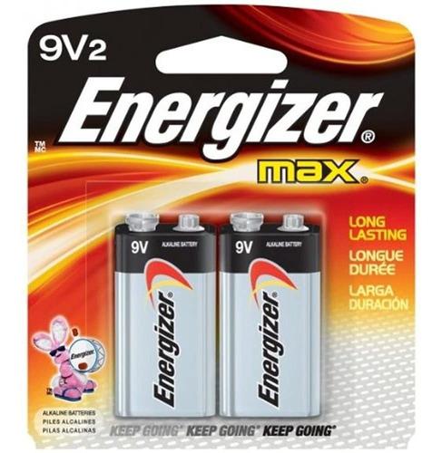 Imagen 1 de 1 de Bateria Alcalina De Uso General Energizer 9v - Alcalina - 9v