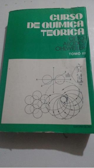 Antigo Livro De Química Teórica Ano 1974