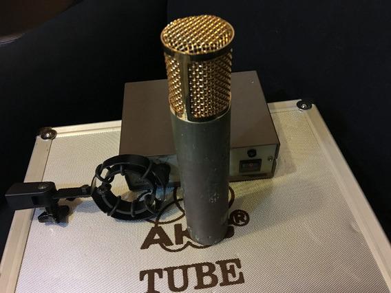 Microfone Akg-c12 Vintage - Perfeito - The Tube