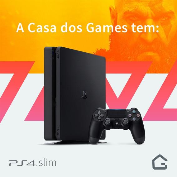 Ps4 Playstation 4 Slim 500gb Entrega Porto Alegre E Região