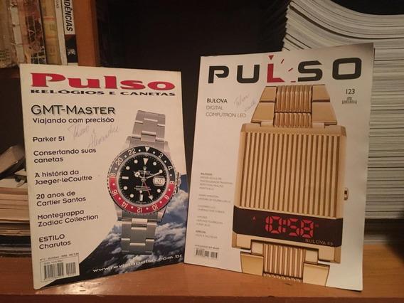 Coleção Completa Revista Pulso N° 01 Ao 123 + 2 Anuários