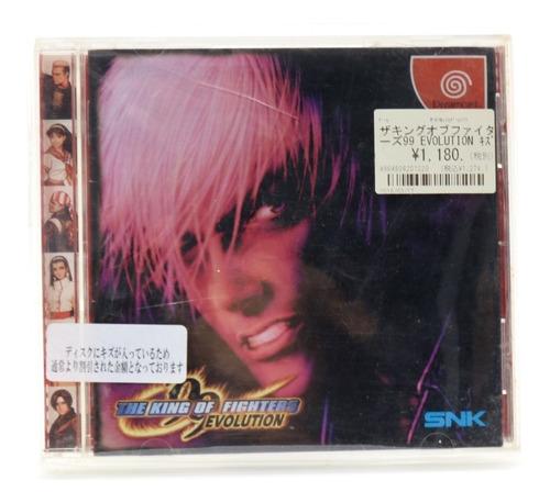 Jogo Sega Dreamcast The King Of Fighters 99 Evolution A12900