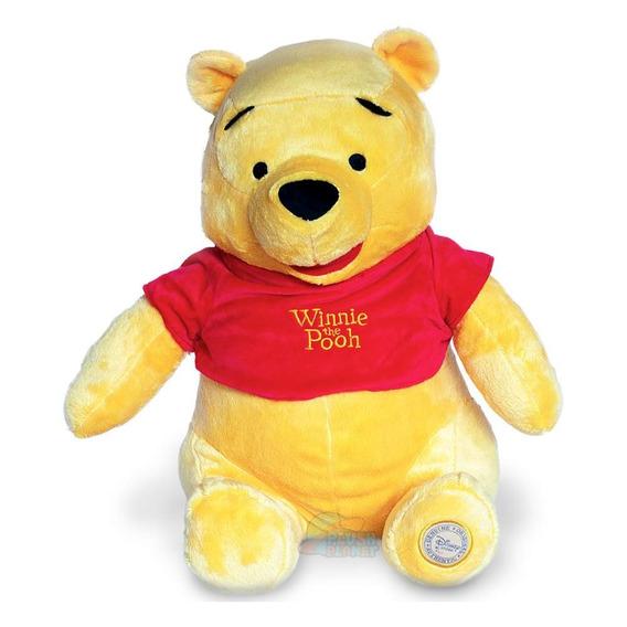 Pooh Pelúcia Disney -turma Do Pooh - 40 Cm - Grande