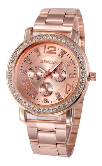 Relógio Feminino Original 2626 Rosê C/ Nota Fiscal Garantia