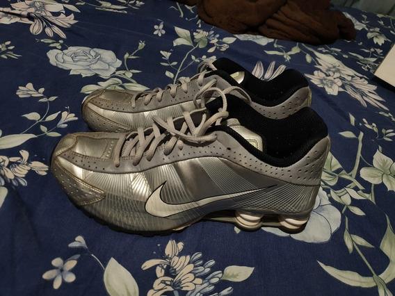 Tênis Nike Shox R4 Prata
