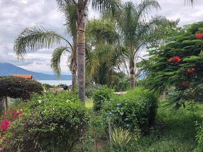 Lote En Venta San Juan Cosala. Vista Al Lago.