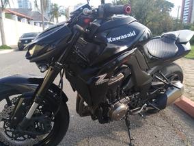 Kawasaki Z1000 2014/2015 Preta 10.000 Km