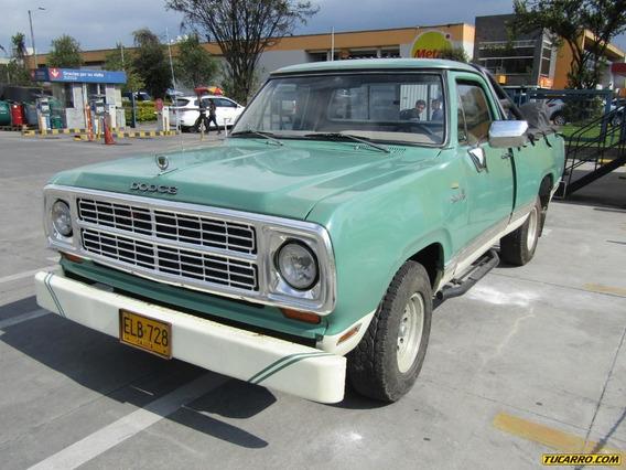 Dodge D-100 115 Mt 5212 Adventurer