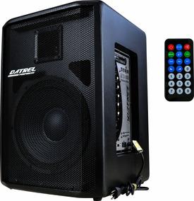 Caixa De Som Ativa Af 12 Bluetooth/usb/sd/fm 250 Rms Potente