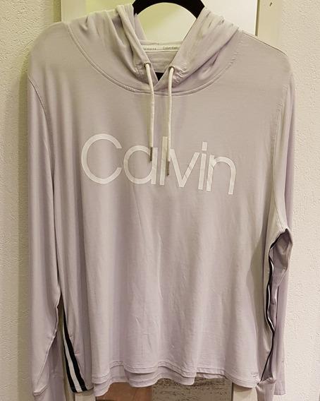 Buzo Liviano Calvin Klein 100% Original Talle Grande