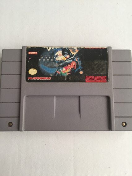 Cartucho Batman Forever Super Nintendo