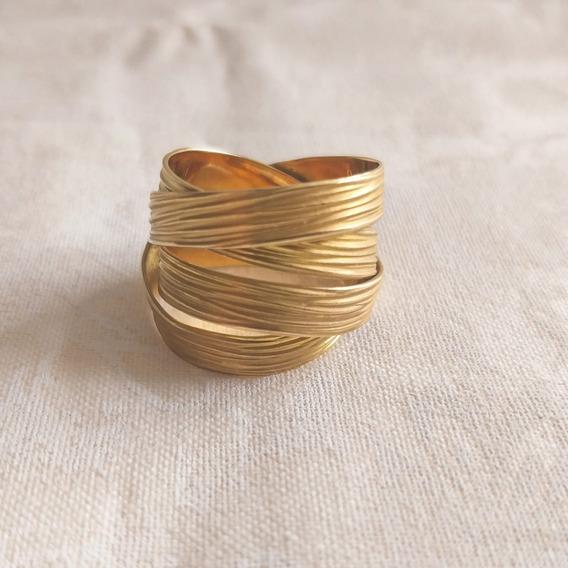 Anel H.stern Em Ouro Amarelo 18k