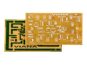 Placa Para Montar Amplificador 1600w Rms C5200 E A1943