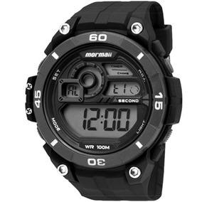 Relógio Mormaii Digital Masculino Esportivo Mo2019/8p