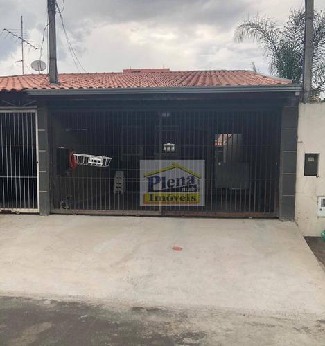 Casa Com 2 Dormitórios À Venda, 90 M² Por R$ 260.000,00 - Jardim Santa Clara Do Lago Ii - Hortolândia/sp - Ca4617