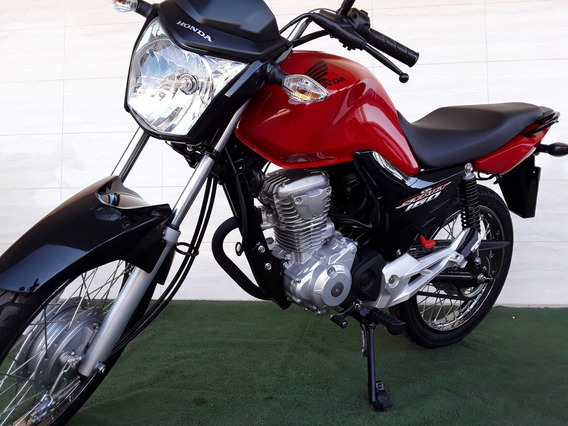 Honda Cg 160 Start Inj Eletronica Sistema Cbs Painel Digital