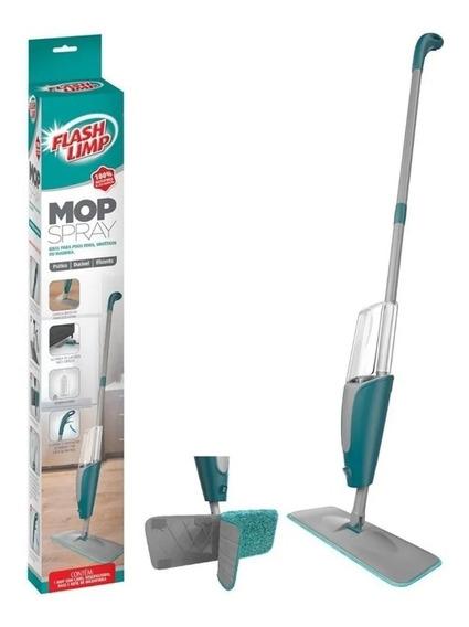 Spray Mop Mágico C/ Reservatório Refil Microfibra Flash Limp