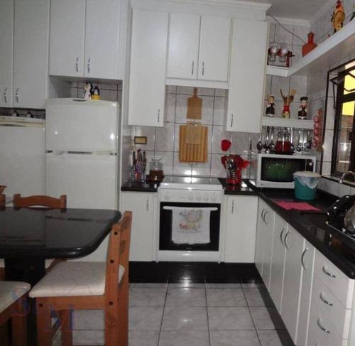 Imagem 1 de 12 de Casa Com 2 Dormitórios À Venda, 65 M² Por R$ 330.000,00 - Parque João Ramalho - Santo André/sp - Ca0826