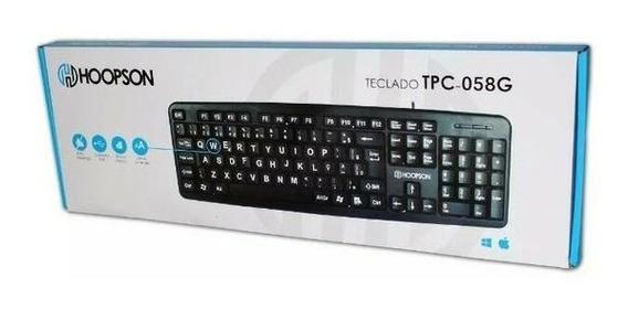 Teclado Usb Hoopson Tpc-058g