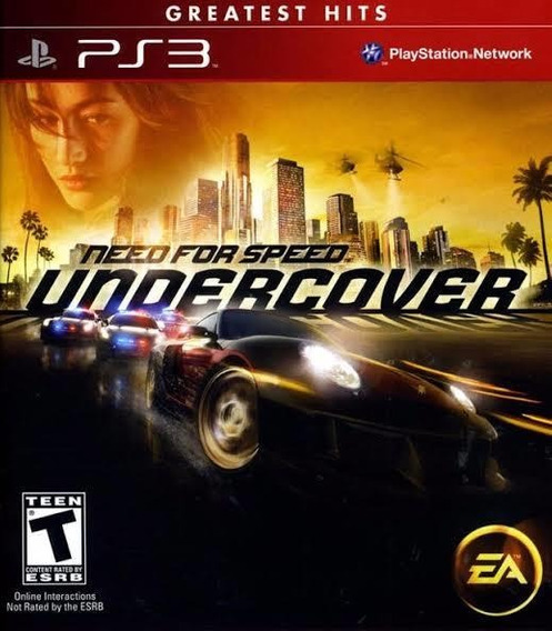 Need For Speed Undercouver Ps3 Original Digital