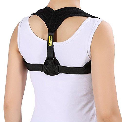 Corrector De Postura Soporte Espalda Clavículahombro Apoyo