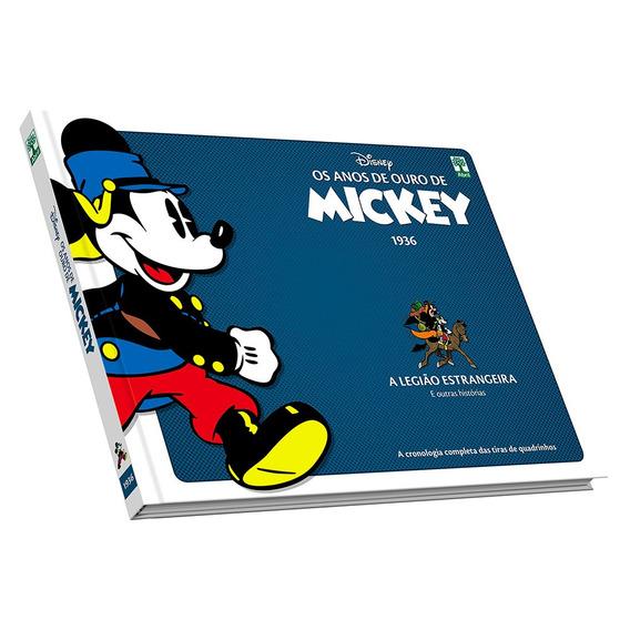 Hq Os Anos De Ouro De Mickey Na Legião Estrangeira Capa Dura