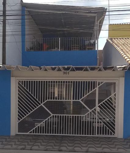Sobrado À Venda 5 Dormitórios 2 Vagas Vila Figueira Sb-0043