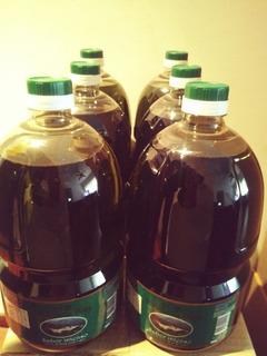 Aceite De Oliva De Mendoza Extra Virgen 6 Botellas De 2litro