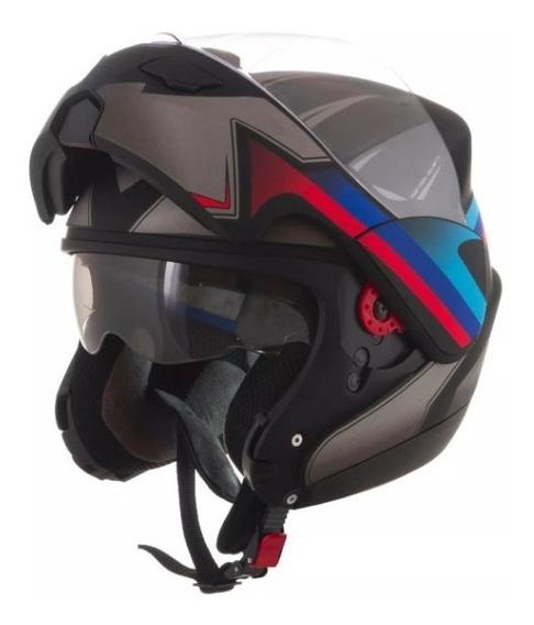 Capacete Pro Tork Robocop Big Trail Attack Preto Fosco