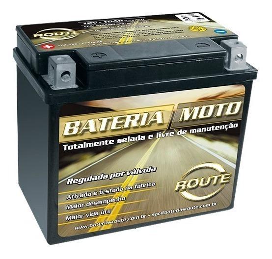 Bateria Route 12v 10ah Dafra Next 250 Original 013059