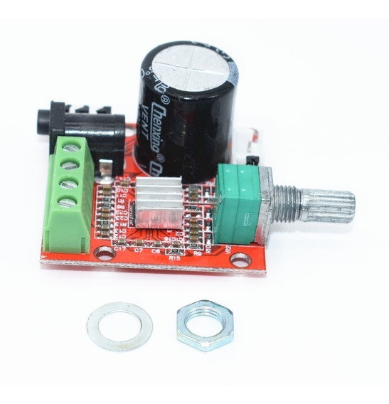 Placa Amplificador Digital 15+15 30w Rms Módulo Potência Som