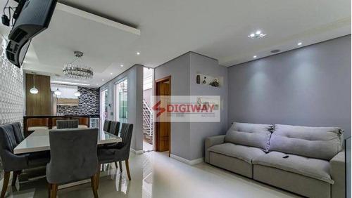 Sobrado Impecável!!!! Todo Reformado!  3 Dormitórios À Venda, 215 M² Por R$ 1.550.000 - Aclimação - São Paulo/sp - So0510