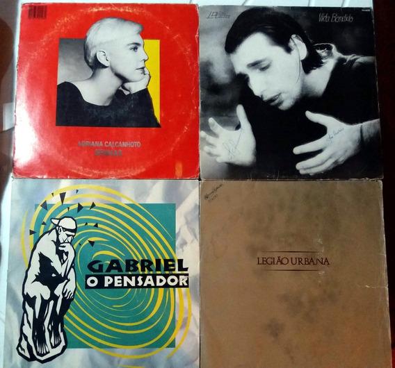Vinil Lobão / Legião Urbana / Adriana Calcanhoto / Gabriel P