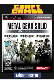Metal Gear Solid Hd Collection Ps3 Psn Digital Game